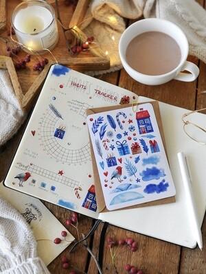 """Stickers """"Зимові розваги"""" - 2"""