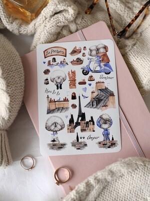 "Stickers ""Paris"""