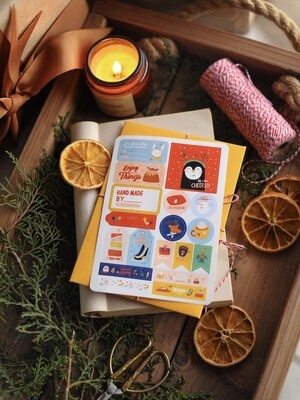 """Stickers """"Holiday magic"""""""