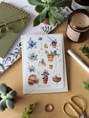 Stickers «SUCCULENTS»