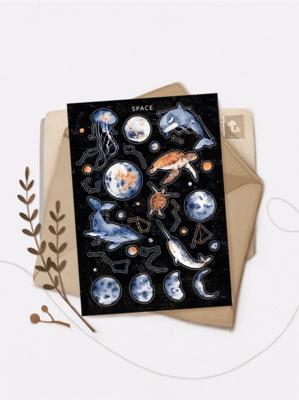 """Наліпки """"SPACE"""""""