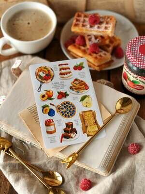 """Stickers """"Food"""""""