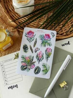 """Stickers """"Protea"""""""
