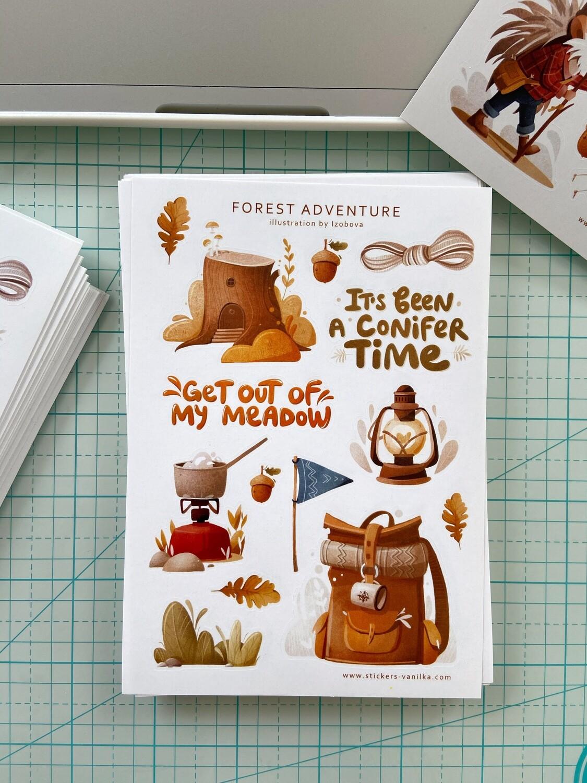 "Stickers ""Forest adventure"""