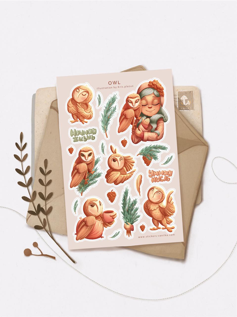 Stickers «OWL»