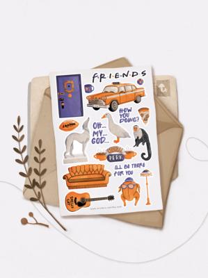 "Наліпки ""FRIENDS"""