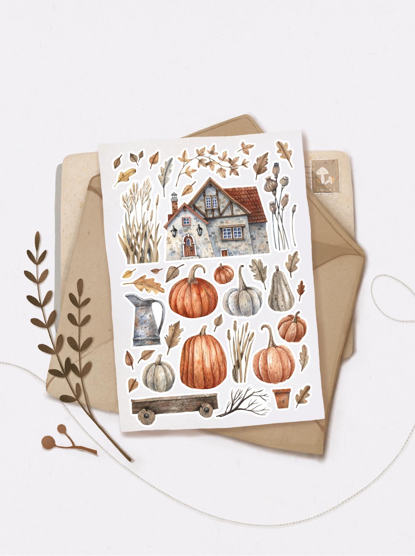 """Наліпки """"Autumn cozy"""""""
