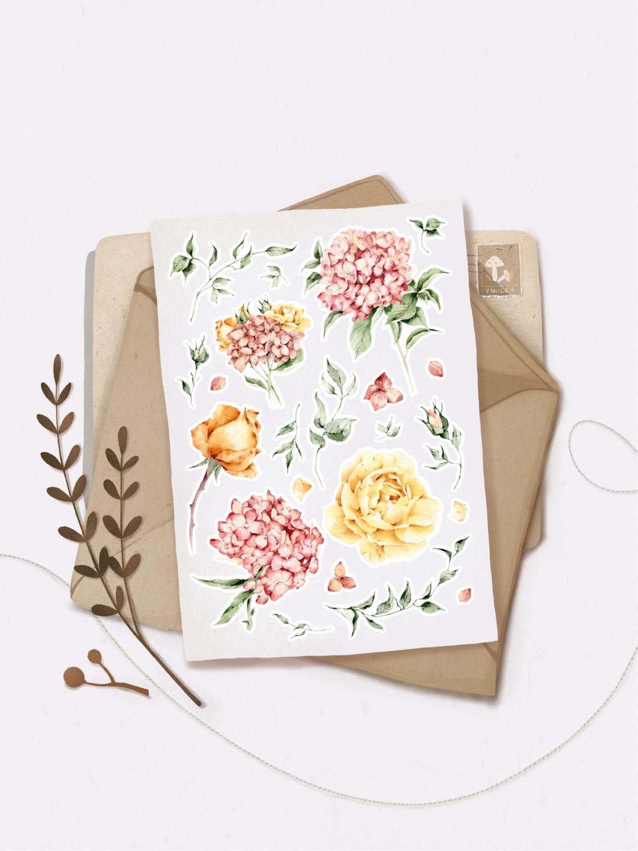 "Наліпки ""Flowers mood"""
