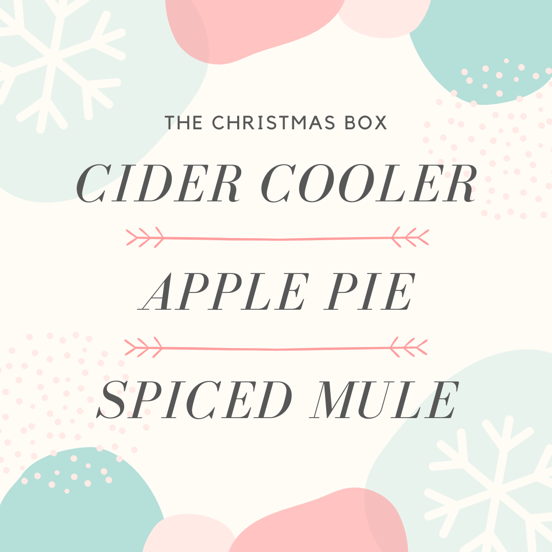 THE CHRISTMAS BOX - MAKES 6 COCKTAILS!