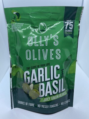 Olly's Olives Garlic and Basil