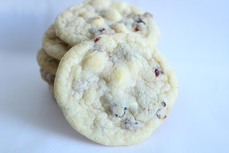 White Chocolate Cranberry Cookies 2 Dozen