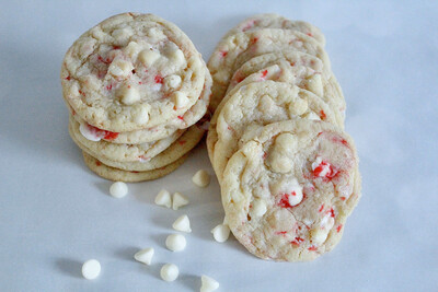 Mint White Chocolate Cookies 2 Dozen
