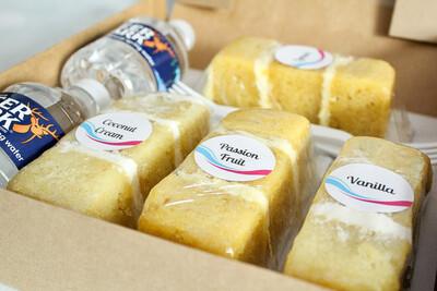 Cake Tasting On The Go Box