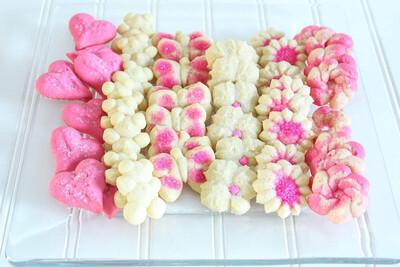 Butter Spritz Cookies 6 Dozen