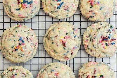Soft Baked Funfetti Cookies 2 Dozen