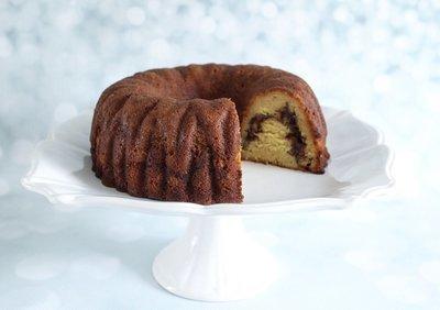 Cinnamon Swirl Rum Cake