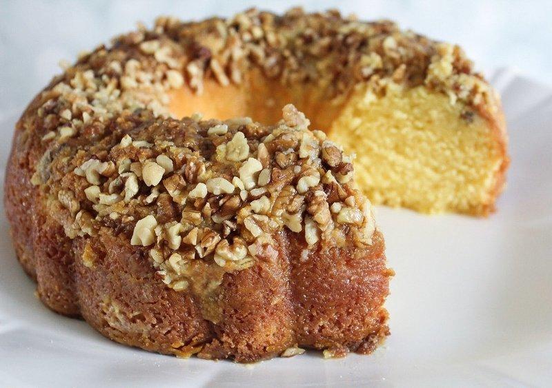 Passion Fruit Rum Cake