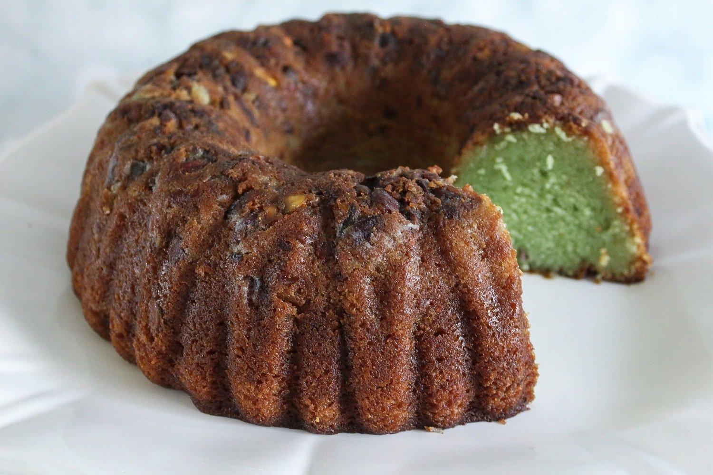 Pistachio Rum Cake