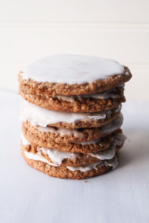 Iced Oatmeal Cookies 2 Dozen