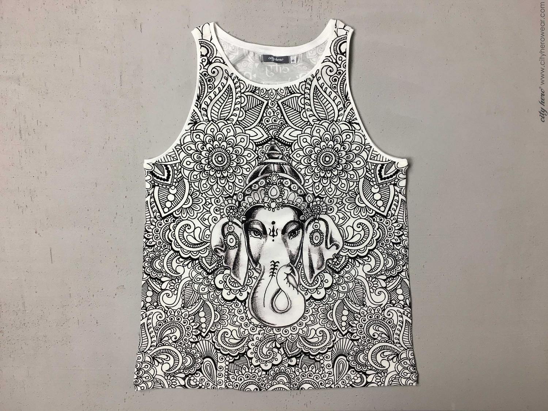 Ganesha's Garden [TANK-TOP WOMEN]