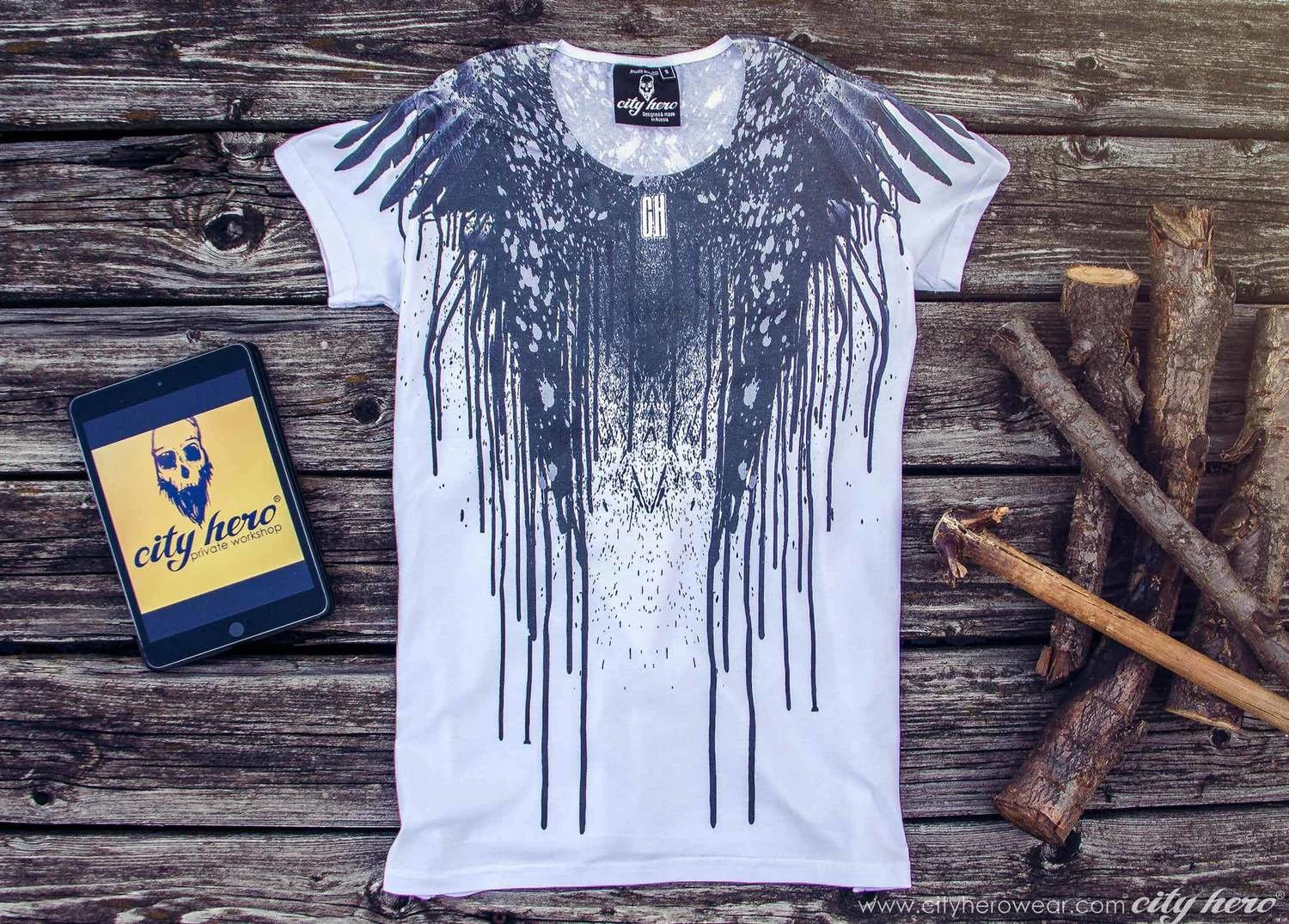 WINGZ OF DARK [T-SHIRT WOMEN]