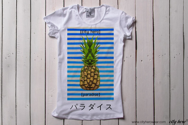 Pineapple Paradise [ФУТБОЛКА ЖЕНСКАЯ]