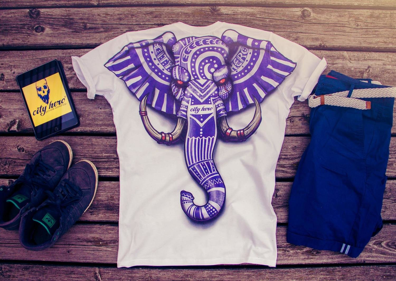 Tribal Elephant [T-SHIRT MEN]