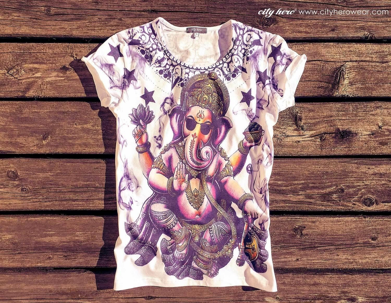 Smoky Ganesha [T-SHIRT WOMEN]