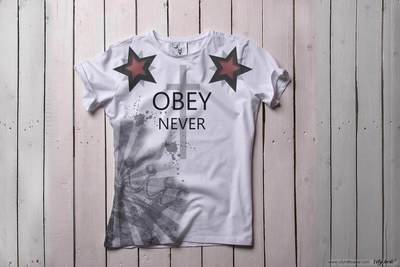 Obey Never [ФУТБОЛКА МУЖСКАЯ]