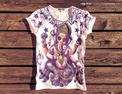 Smoky Ganesha [ФУТБОЛКА ЖЕНСКАЯ]