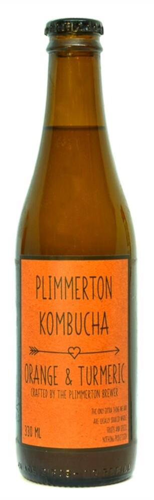 Orange & Turmeric  kombucha - 12 pack