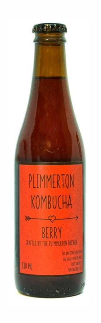 Berry kombucha - 12 pack