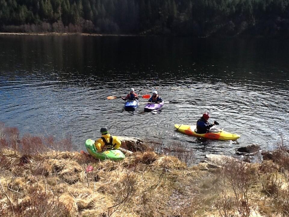 British Canoeing Explore Award