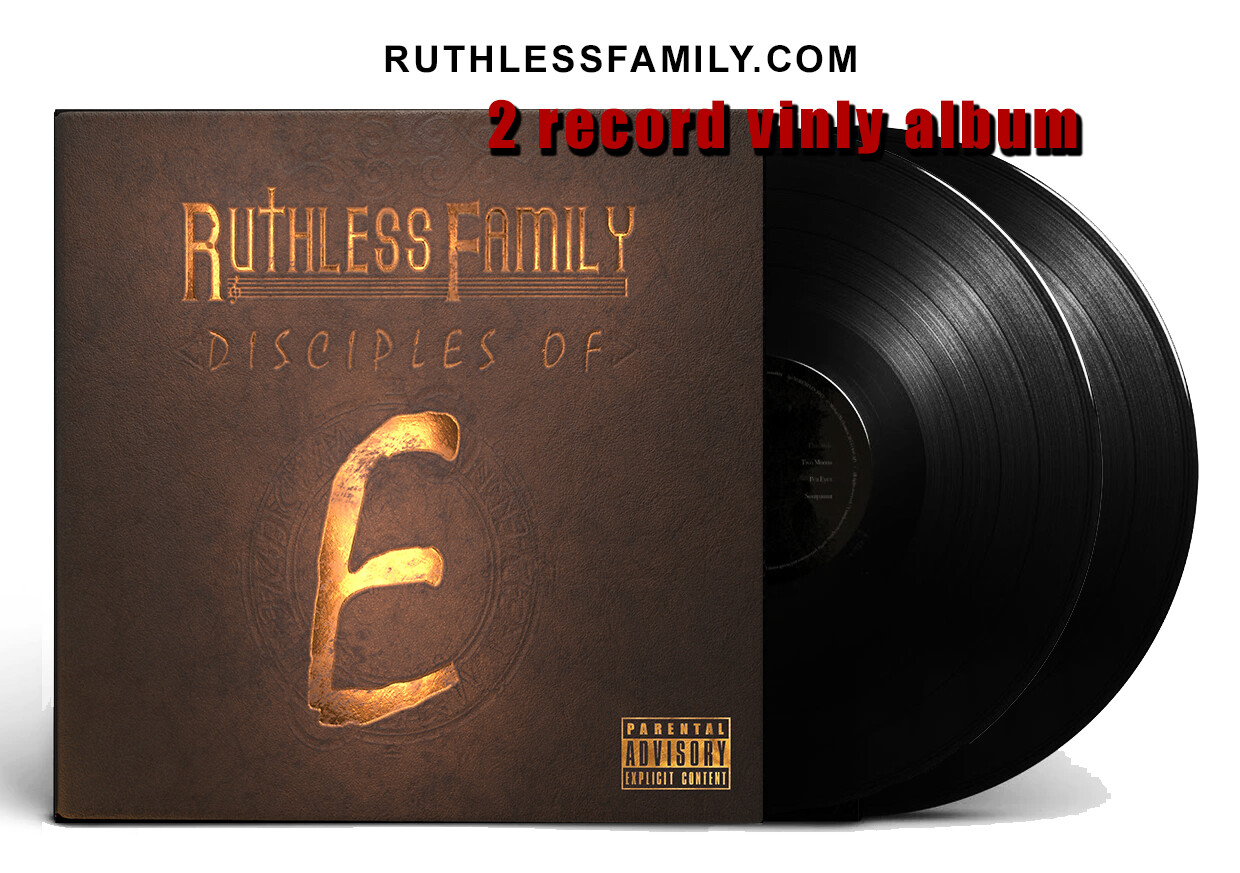 Ruthless Family : Disciples of E  (2 record vinyl) Limited Quantity #eazye #ruthlessfamily