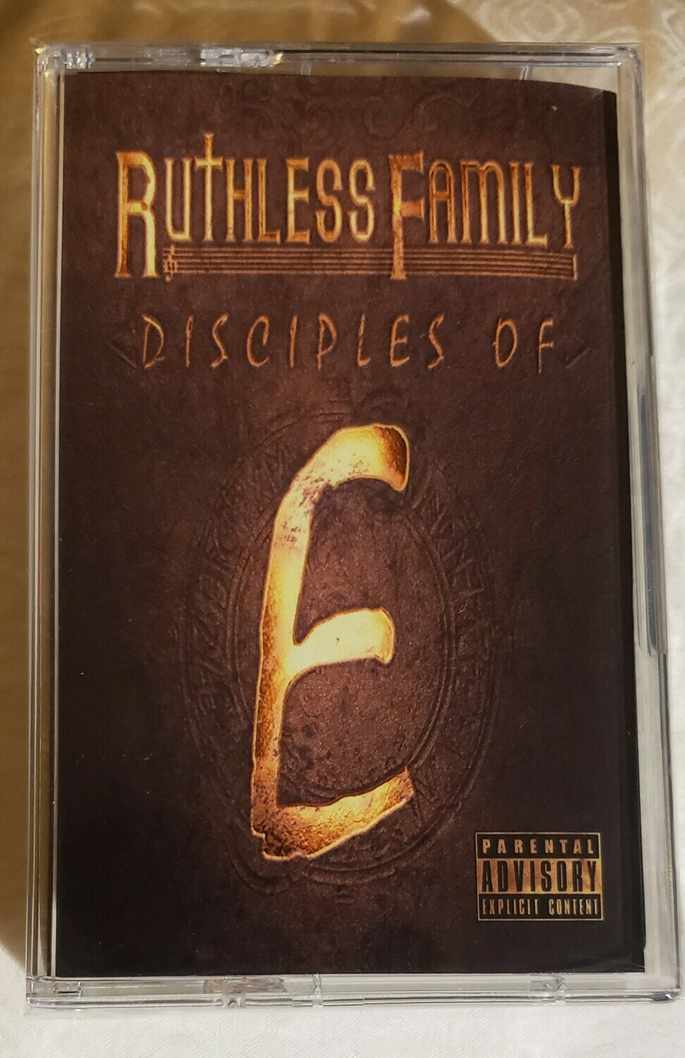 Ruthless Family : Disciples of E  (Cassette Tape) Limited Quantity #eazye #ruthlessfamily #tape