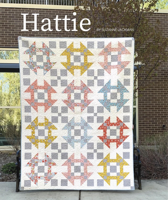 Hattie - Quilt Pattern - PDF Download