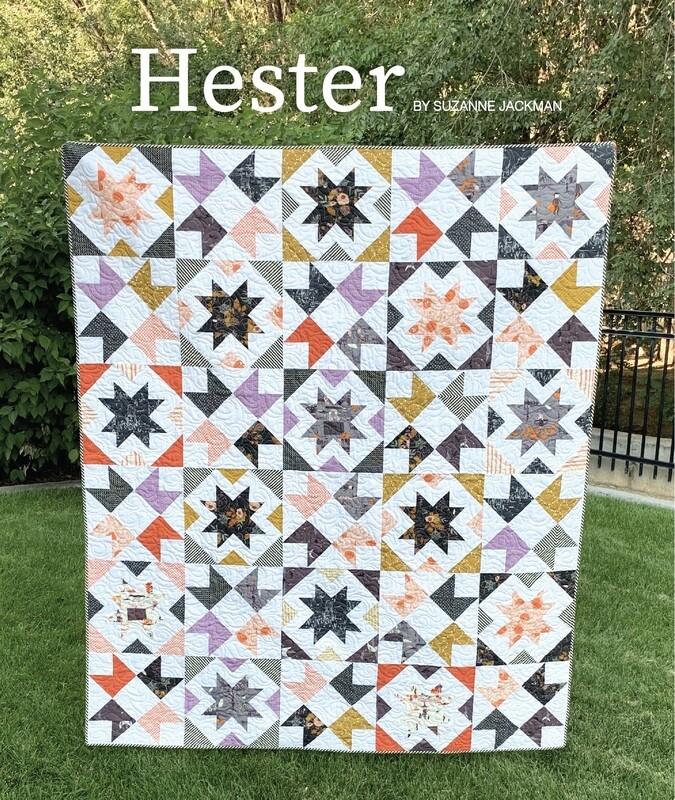 Hester - Quilt Pattern - PDF Download