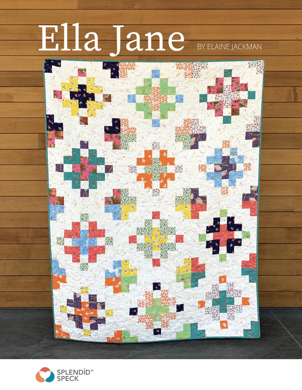 Ella Jane - Quilt Pattern - PDF Download