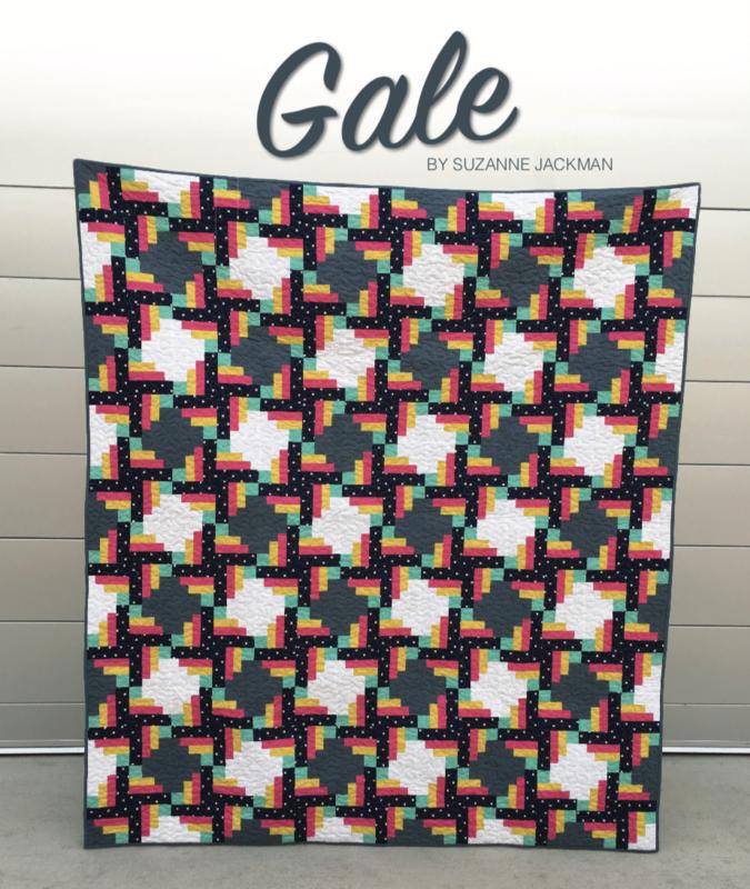 Gale - Quilt Pattern - PDF Download