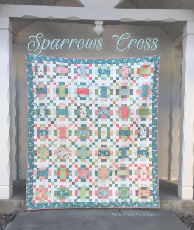 Sparrows Cross - Quilt Pattern - PDF Download