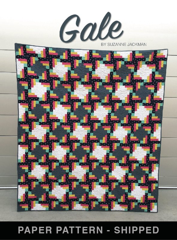 Gale - Quilt Pattern - Paper Pattern