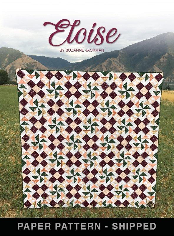 Eloise - Quilt Pattern - Paper Pattern