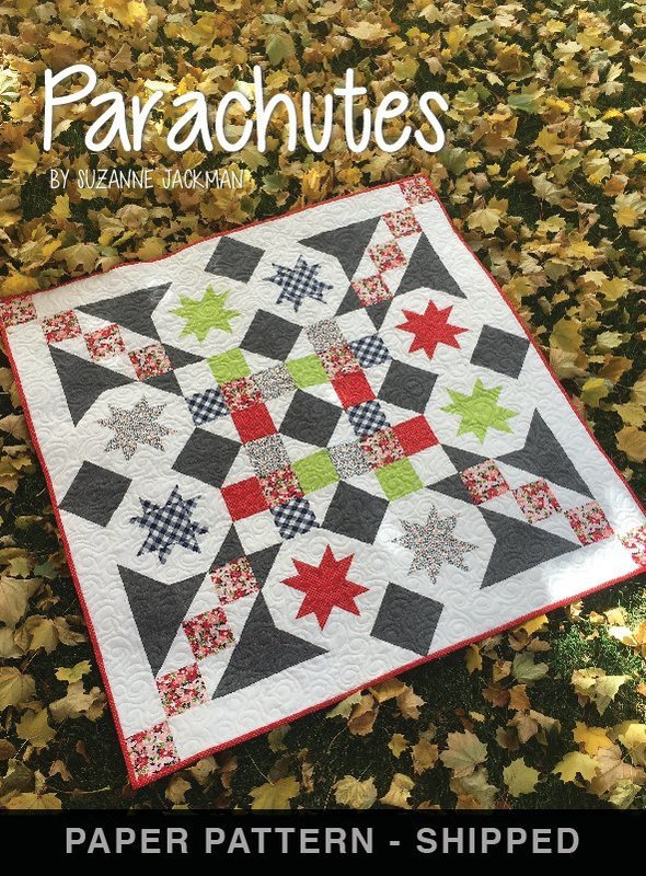 Parachutes - Quilt Pattern - Paper Pattern