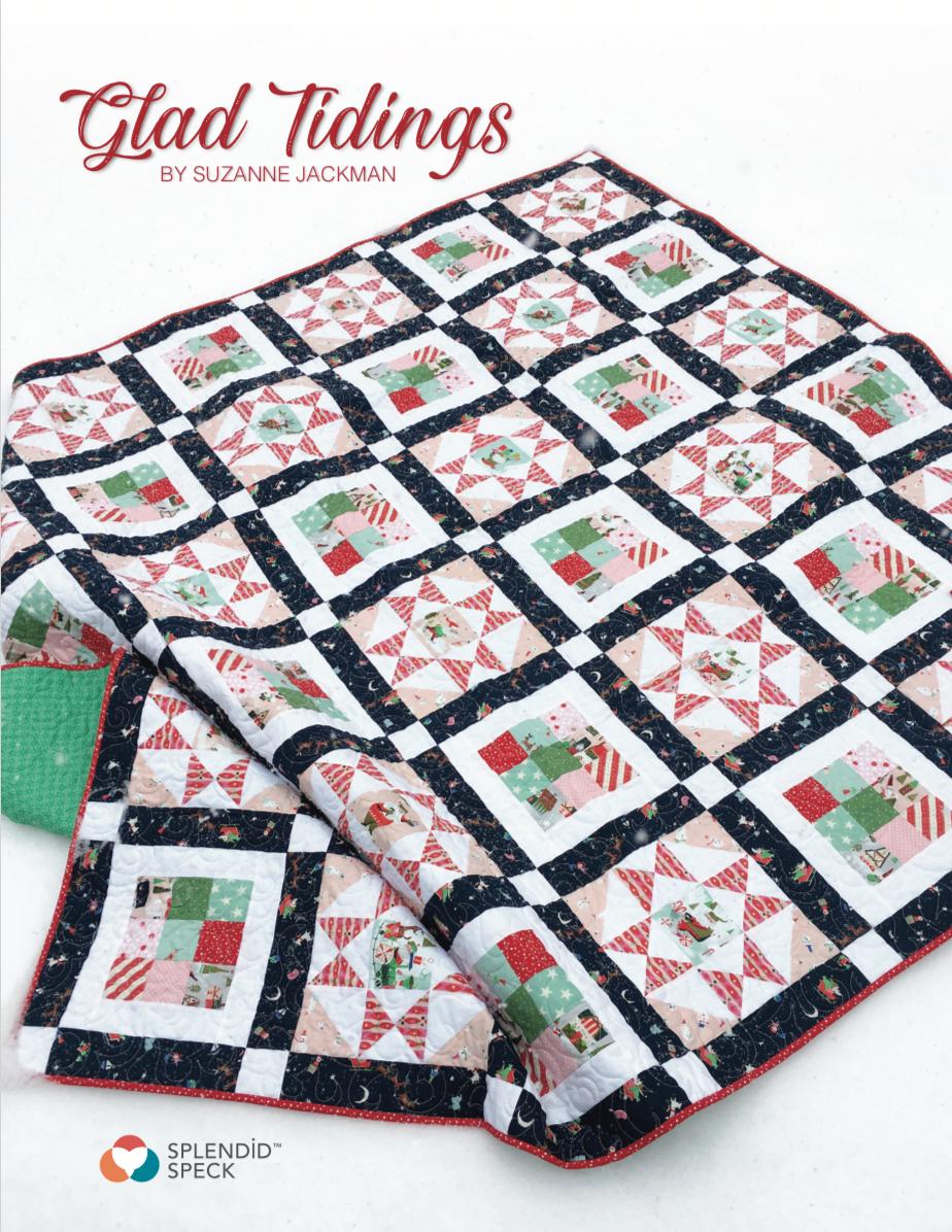 Glad Tidings - FREE Quilt Pattern - PDF Download