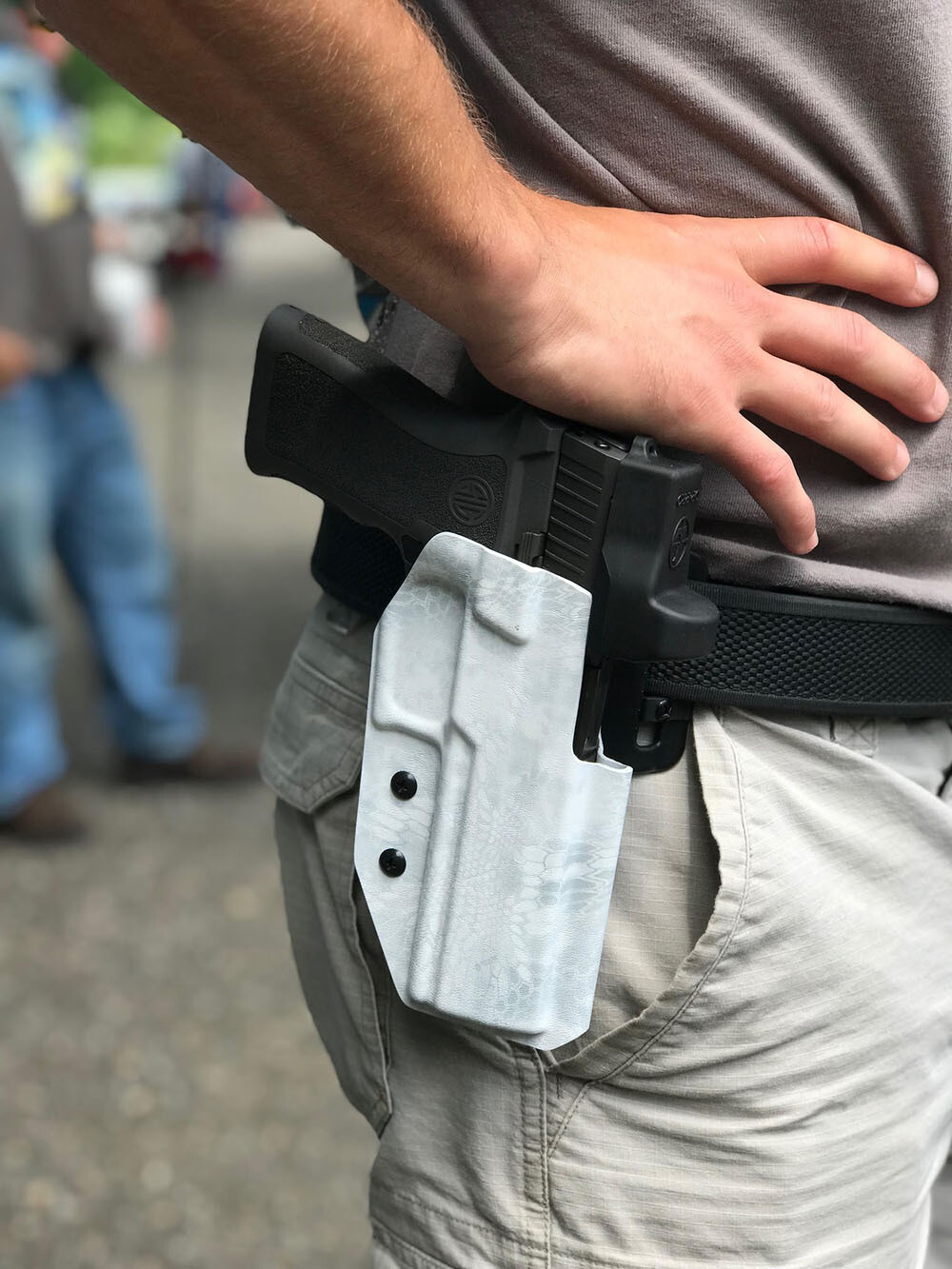 """""""THE COMP"""" OWB - Competition / Range Holster"""