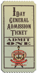 1 Day General Admission Ticket