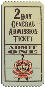 2 Day General Admission Ticket