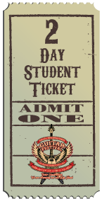 2 Day Student Ticket