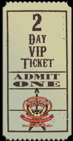 2 Day VIP Ticket