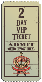 2 Day VIP Ticket